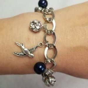 Lady Love Dove Blue Bracelet